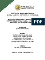 Finanzas Avanzadas - Trabajo Final