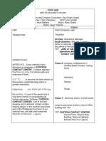 Custech Contact Center AVP Script