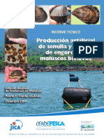 Producción Artificial de Semilla y Cultivo de Engorde de Moluscos Bivalvos