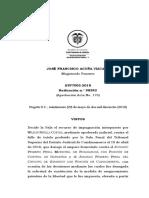 STP7003-2018 sustutucion de medida de aseguramiento