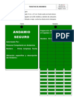 Registro N° 51 = Tarjetas de Andamios