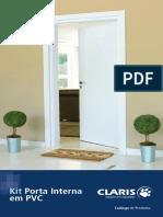 Kit Porta Interna Em PVC. Catálogo de Produtos