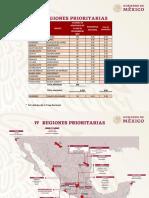 17 regiones prioritarias para AMLO en materia de seguridad