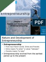 Nature and Development of Entrepreneurship.pdf
