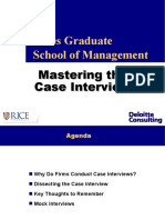 Deloitte Case Study Template