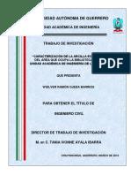 TRABAJO DE INVESTIGACION CARACTERIZACION DE LA ARCILLA EXPANSIVA.pdf