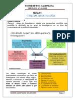 01 - ORIGEN - IDEA - TEMA DE UNA INVESTIGACIÓN.docx
