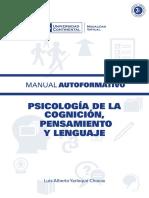 Psicología de La Cognicion Pensamiento Lenguaje MAU01
