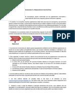 Comunicado I - Producción de tesis políticas