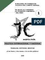 Cuaderno 1 Apoyo Congreso Jc (Politica Internac.nac.)