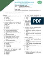 Soal Ujian Pkn Kelas Xii Semester 1