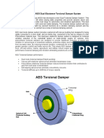 AEG Dual Elastomer Torsional Damper System