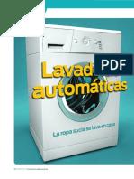 Lavadoras automáticas
