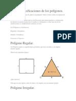 Algunas Clasificaciones de Los Polígonos