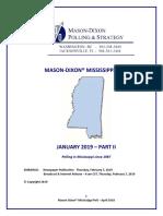 Mason Dixon Poll Governor's Feb 2019