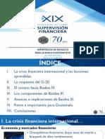 Importancia de Basilea III Para La Banca Guatemalteca