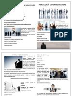 Psicología organizacional - A3
