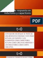 Tipos de Respuesta en Inductores y Capacitores