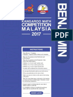 KMC question year 2017 (Benjamin 2017)