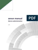 Zenon Alarms Administration