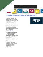 Estructura definicion y tipos