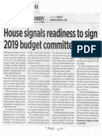 Business World, Feb. 7, 2019, House signals readiness to sign 2019 budget committee report.pdf