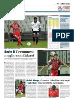 La Provincia Di Cremona 07-02-2019 - Serie B
