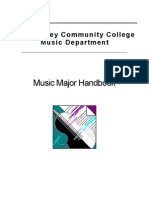 Music Department Handbook