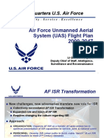 - Air Force Unmanned Aerial System (UAS) Flight Plan 2009-2047