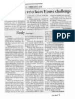 Philippine Star, Feb. 7, 2019, Rody budget veto faces House challenge.pdf