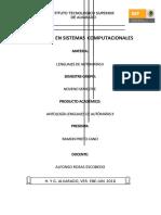 Antologia Automatas II