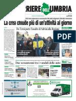 La Video Rassegna Stampa Dell'Umbria e Nazionale Del 7 Gennaio 2019