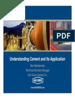 TACA Understanding Cement and Its Application Jan 2013 Ben