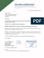 Deduru-NWS&DB-229 [Submission of Pre-Condition Survey Report for Thammitagama Road (5-B62)]
