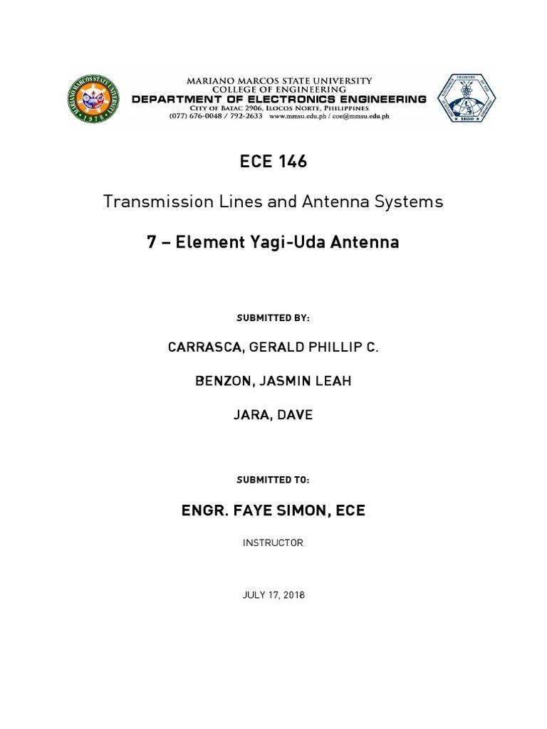 Yagi Uda | Antenna (Radio) | Electromagnetism