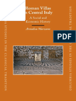 Marzano, Roman Villas in Central Italy. a Social and Economic History,Brill 2007