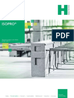 ISOPRO - Conectori balcoane