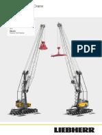 Liebherr Lhm 420 Mobile Harbour Crane Datasheet English