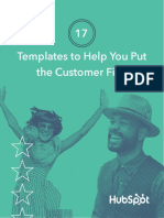 17 Customer First Templates