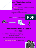 The Present Simple powerpoint