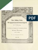 1896-Hans Baldung Griens Wappenzeichnungen in Coburg (R. Stiassny)