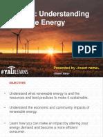 Understanding Renewable Energy PowerPoint