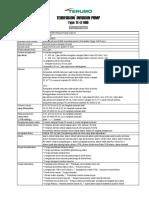 Spesifikasi LF600N03