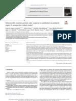 Patterns of Creactive Protein Ratio Response to Antibiotics in Pediatric Sepsis a Prospective Cohort Study