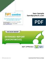 3. 360 Appraisal Extended Report