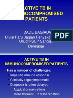 15 Active Tb in Immunocompromised Patients English Class