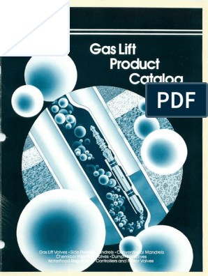 Camco Gas Lift Product Catalog Valve Gases