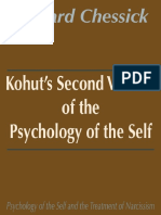 Kohuts Second Version of the Psychology of the Self