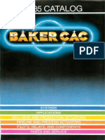 Baker CAC 1984-1985 Catalog