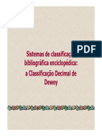 Sistemas de classificação bibliográfica